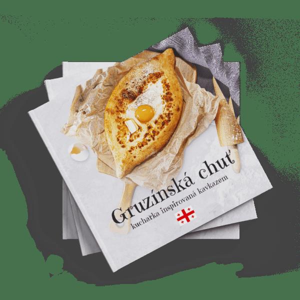Gruzínská kuchařka Gruzínská chuť v češtině, ČR, Brno