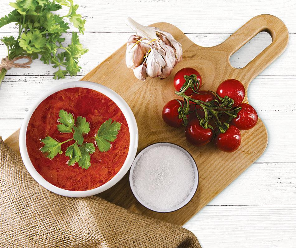 Gruzínská rajská polévka